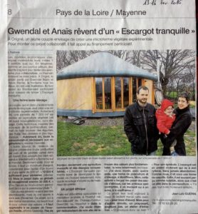 article-ouest-france-projet-escargot